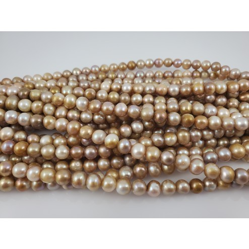 Natural Round Freshwater Pearls