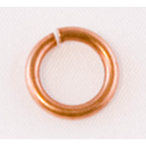 Oxidized Open 14 Gauge Copper Jump Ring