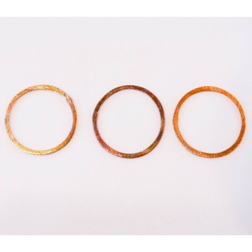31mm Rainbow Copper Brushed Link