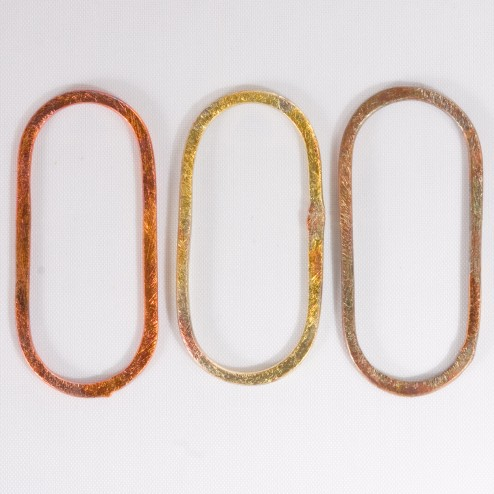 42mm Rainbow Copper Oblong Link
