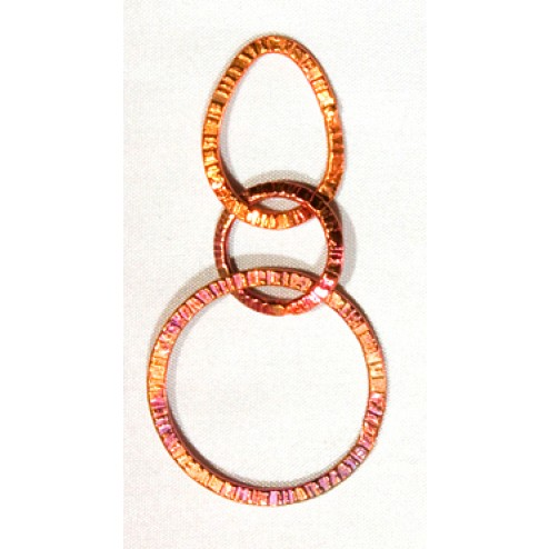 55mm Rainbow Copper Soldered Chain Links