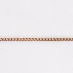 Copper Curb Chain