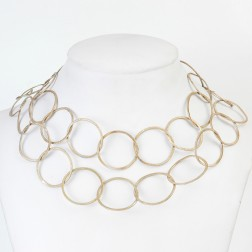 Copper Flaxen Gold Round Chain Links