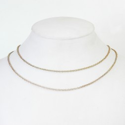 Copper Flaxen Gold Rolo Chain