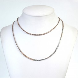 Rectangular Curb Rainbow Copper Chain
