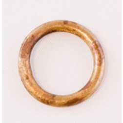 Soldered Oxidized Copper Jump Rings