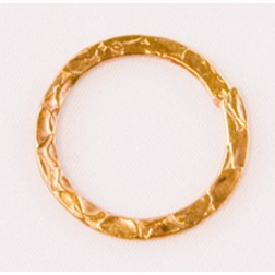 20mm 24k Gold Plated Snakeskin Textured Link