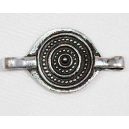 28mm Silver-filled Medallion Link