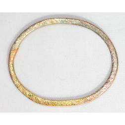 34mm Rainbow Copper Oval Link
