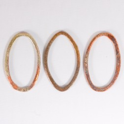 30mm Rainbow Copper Oval Link
