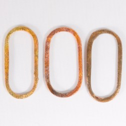 30mm Rainbow Copper Oblong Link