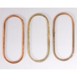 50mm Rainbow Copper Oblong Link