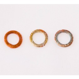 10mm Rainbow Copper Brushed Link