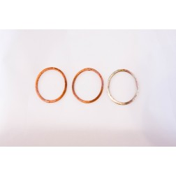 33mm Rainbow Copper Oval Link