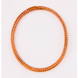 39mm Rainbow Copper Oval Link